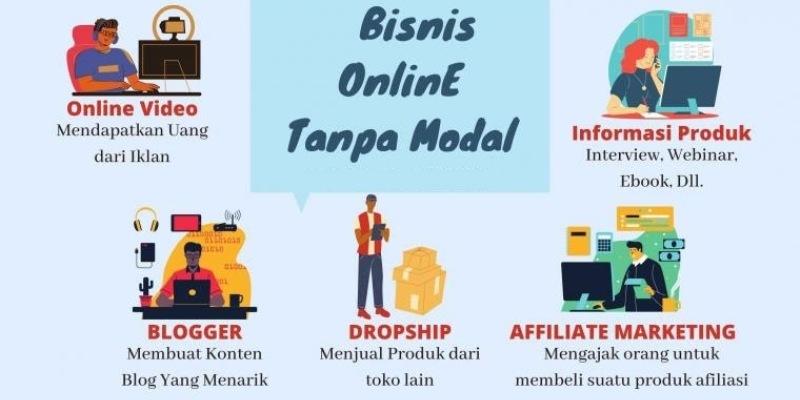 Ide Bisnis Online Berpeluang Dilakukan Tanpa Modal